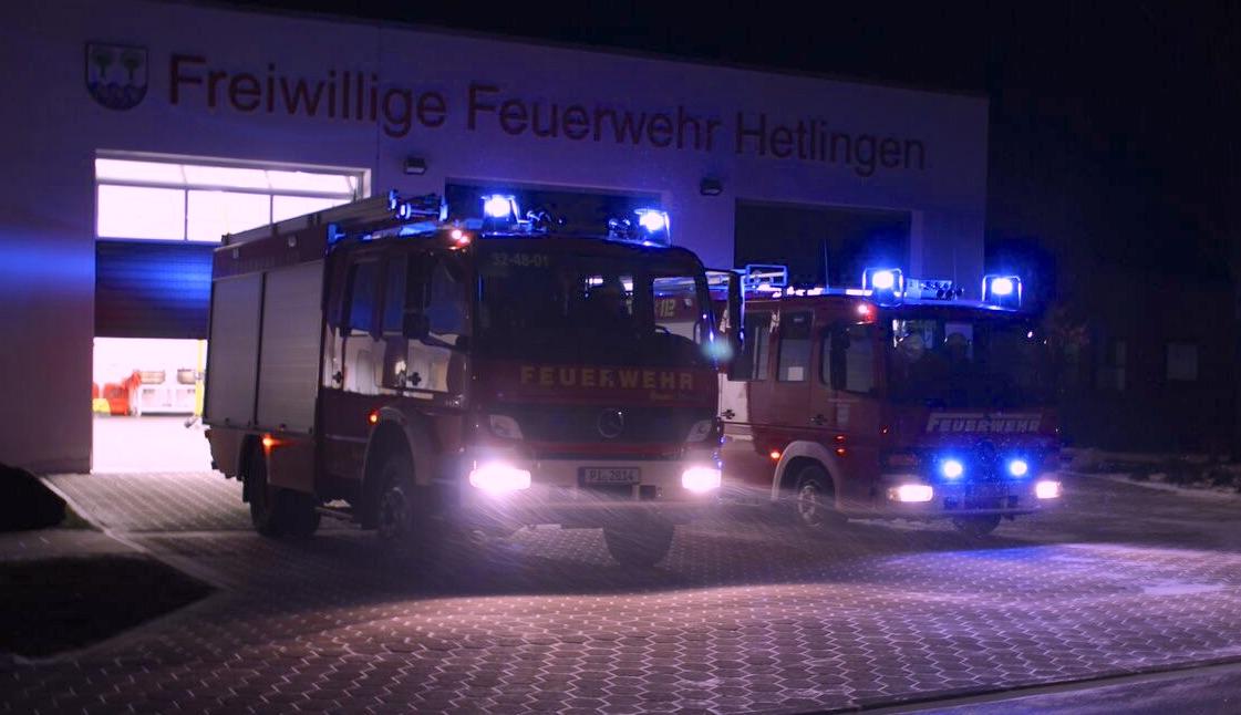 Herzlich Willkommen bei der Freiwilligen Feuerwehr Hetlingen